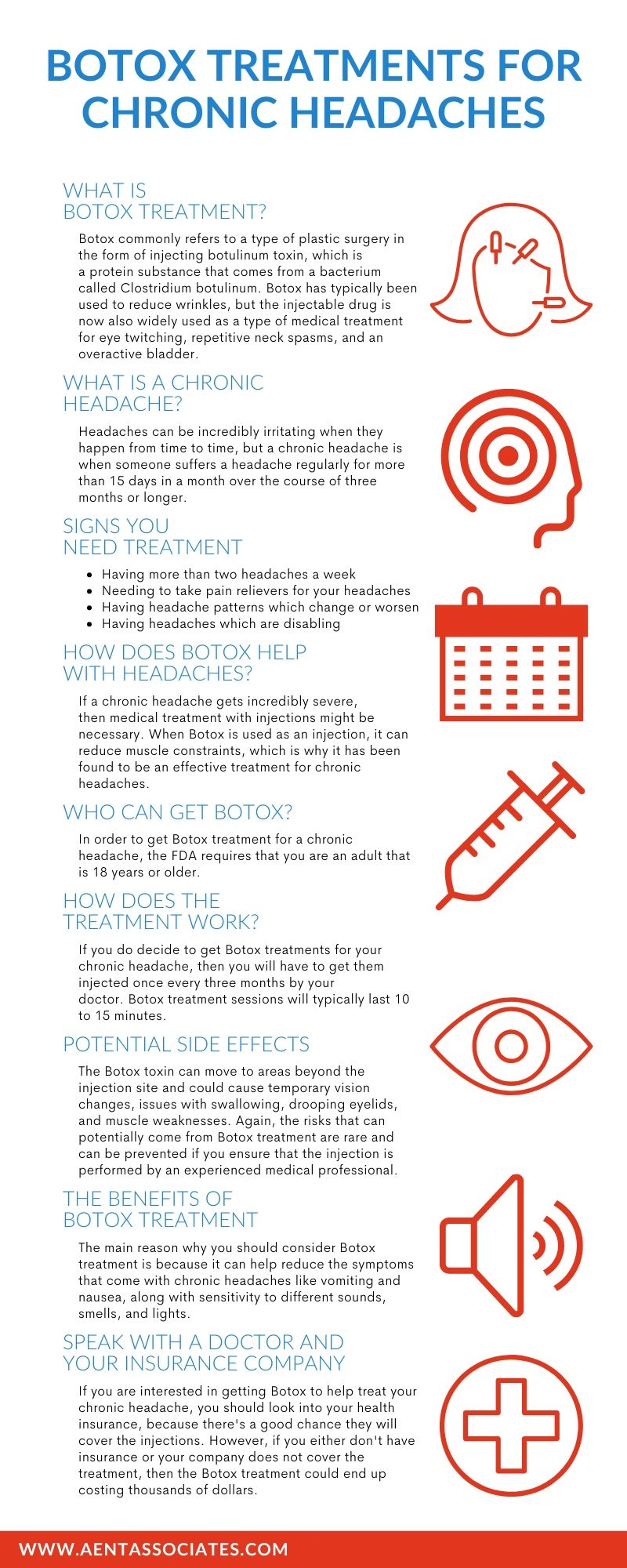 Infographic: Botox Treatments for Chronic Headaches